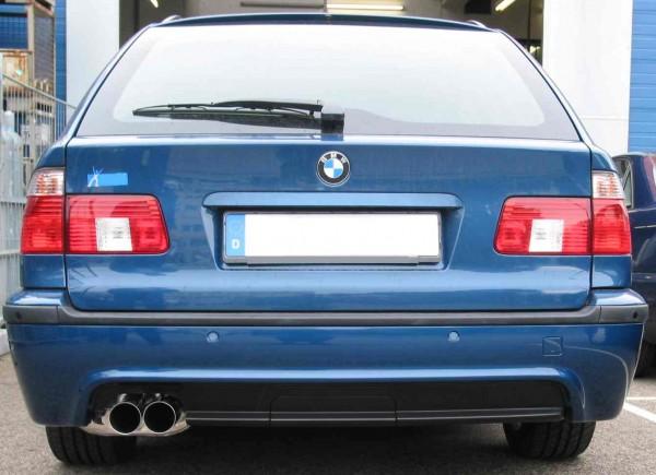 Endschalldämpfer für BMW 5er Touring