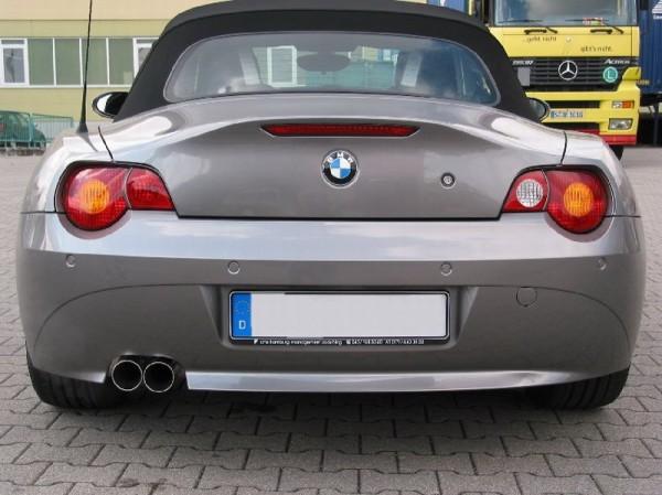 Endschalldämpfer für BMW Z4 Coupe