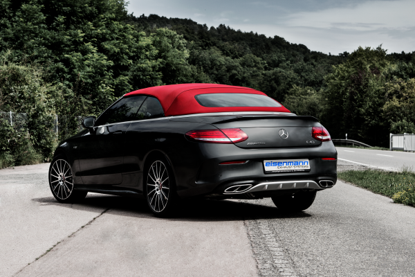 Rear Muffler for Mercedes-AMG C-Class Coupe