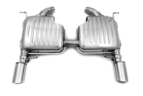 Endschalldämpfer für BMW 3er Limousine